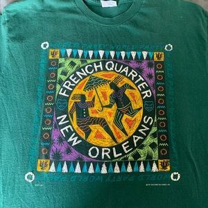 Vintage 90s New Orleans/French Quarter T-Shirt
